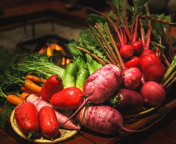芦名の秋冬野菜